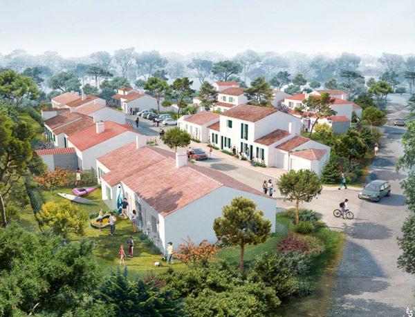 La tranche sur mer immobilier neuf promotion immobiliere for Garage de la foret epinay