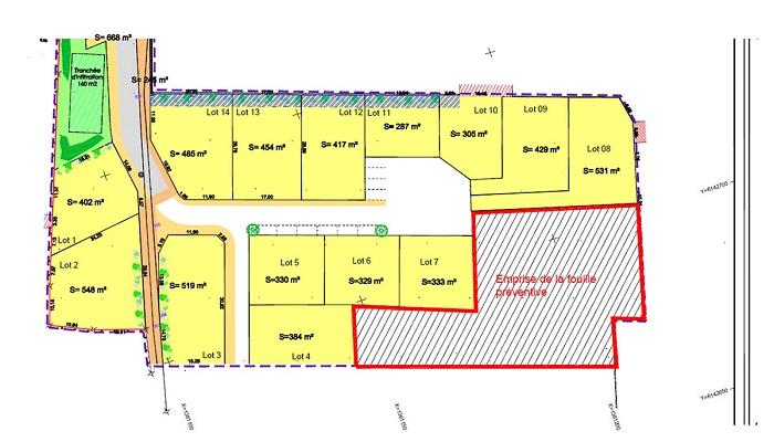 Terrain à vendre près de Longeville sur Mer - Millet aménagement
